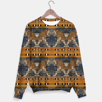Thumbnail image of Babylonian lions Sweater, Live Heroes