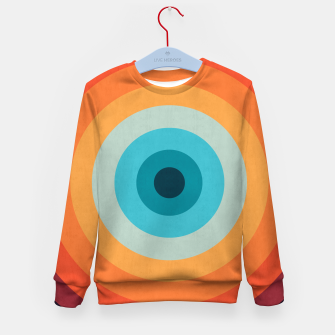 Thumbnail image of Retro color Kid's Sweater, Live Heroes