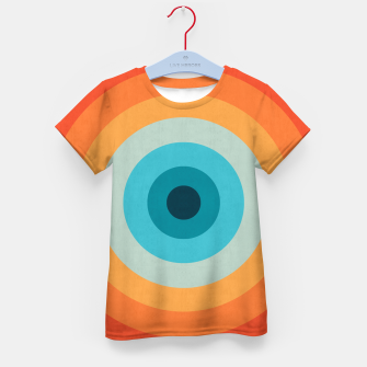 Thumbnail image of Retro color Kid's T-shirt, Live Heroes