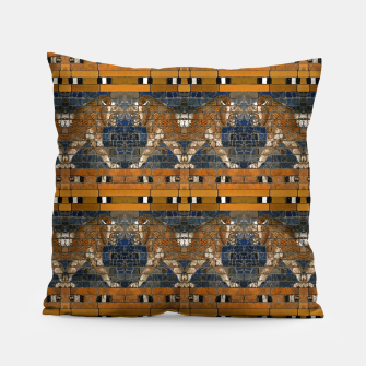 Thumbnail image of Babylonian lions Pillow, Live Heroes