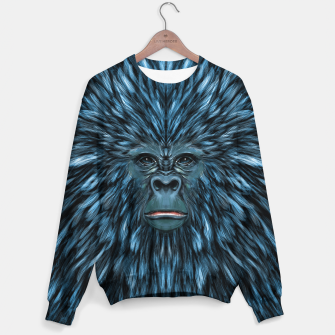 Thumbnail image of Blue Ape Sweater, Live Heroes
