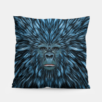 Thumbnail image of Blue Ape Pillow, Live Heroes