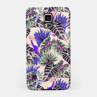 Miniaturka Jungle Pattern and Tropical Birds I Carcasa por Samsung, Live Heroes
