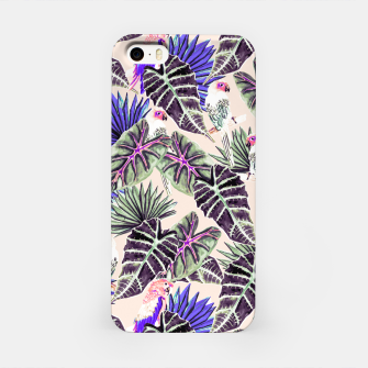 Thumbnail image of Jungle Pattern and Tropical Birds I Carcasa por Iphone, Live Heroes