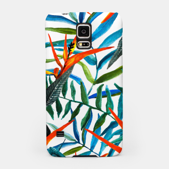 Miniaturka Colorful nature watercolor Carcasa por Samsung, Live Heroes