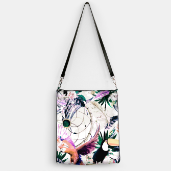 Thumbnail image of Tropical boho painting Bolso, Live Heroes
