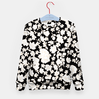 Thumbnail image of White flowers Enfantin Sweat-shirt, Live Heroes