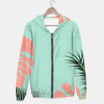 Thumbnail image of Tropical design 001 Hoodie, Live Heroes