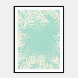 Thumbnail image of Tropical design 002 Framed poster, Live Heroes