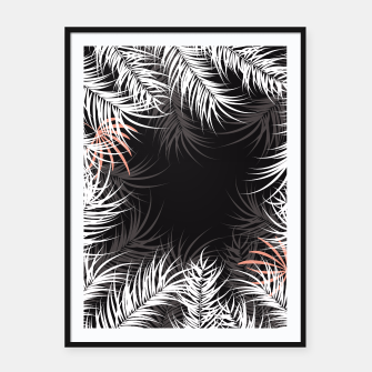 Thumbnail image of Tropical design 004 Framed poster, Live Heroes
