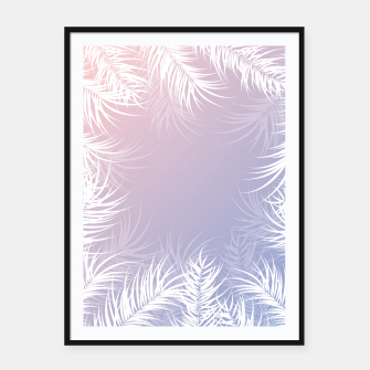 Thumbnail image of Tropical design 005 Framed poster, Live Heroes