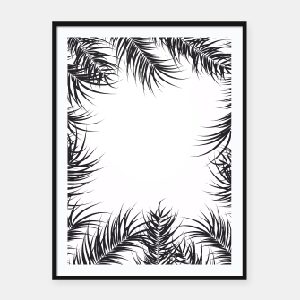 Thumbnail image of Tropical design 006 Framed poster, Live Heroes
