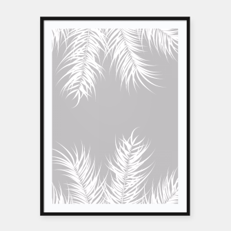 Thumbnail image of Tropical design 010 Framed poster, Live Heroes
