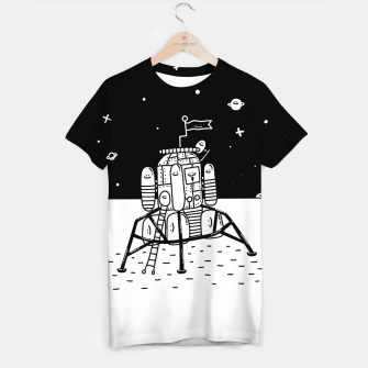 Thumbnail image of Happy Landing Craft T-shirt, Live Heroes