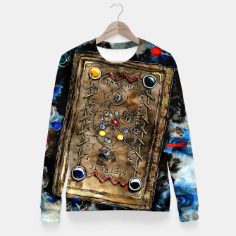 Thumbnail image of Magic Inside Fitted Waist Sweater, Live Heroes
