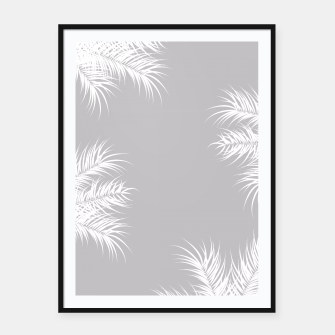 Thumbnail image of Tropical design 011 Framed poster, Live Heroes