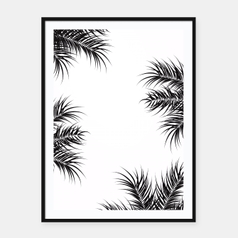 Thumbnail image of Tropical design 012 Framed poster, Live Heroes