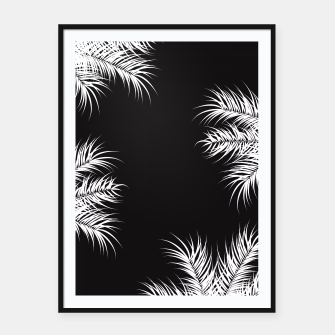 Thumbnail image of Tropical design 013 Framed poster, Live Heroes