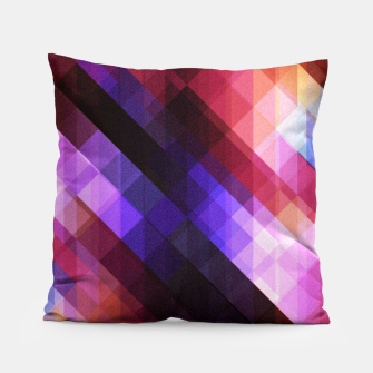 Thumbnail image of Pattern 11 Pillow, Live Heroes