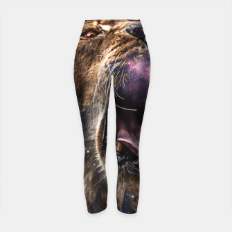 Thumbnail image of Female of the species Yoga Pants, Live Heroes