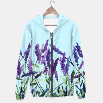 "Thumbnail image of ""Violet lavender"" Sudadera con capucha, Live Heroes"