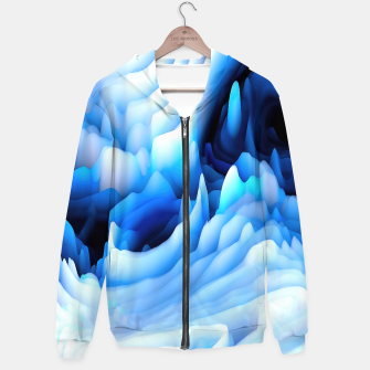 Thumbnail image of 3d Abstract Hoodie, Live Heroes