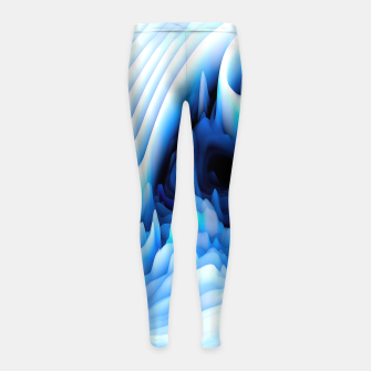 Miniaturka 3d Abstract Girl's Leggings, Live Heroes