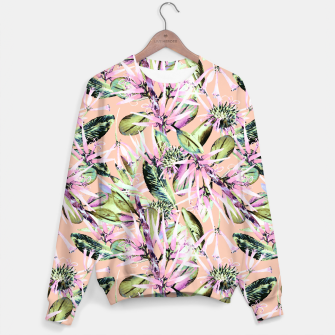 Thumbnail image of Abstract of exotic nature pink I Sudadera, Live Heroes