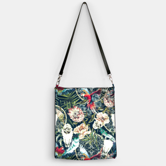 Thumbnail image of Dark pattern boho skull tropical Bolso, Live Heroes