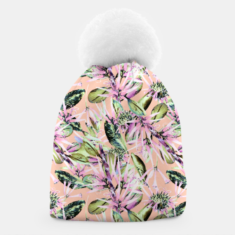 Thumbnail image of Abstract of exotic nature pink I Gorro, Live Heroes