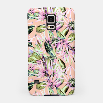 Thumbnail image of Abstract of exotic nature pink I Carcasa por Samsung, Live Heroes