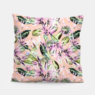 Thumbnail image of Abstract of exotic nature pink I Almohada, Live Heroes