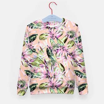 Thumbnail image of Abstract of exotic nature pink I Sudadera para niños, Live Heroes