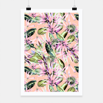 Thumbnail image of Abstract of exotic nature pink I Cartel, Live Heroes