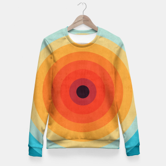 Miniaturka Colorful circle Fitted Waist Sweater, Live Heroes