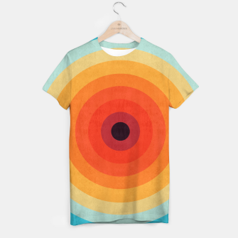Miniaturka Colorful circle T-shirt, Live Heroes