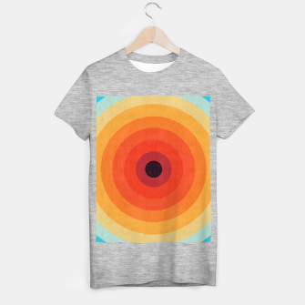Miniatur Colorful circle T-shirt regular, Live Heroes