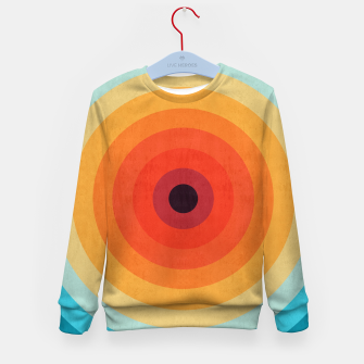Miniaturka Colorful circle Kid's Sweater, Live Heroes
