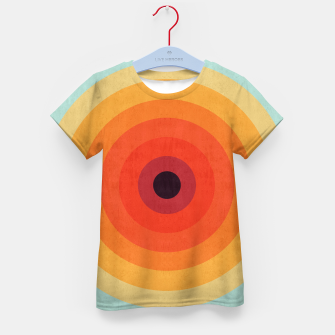 Miniaturka Colorful circle Kid's T-shirt, Live Heroes