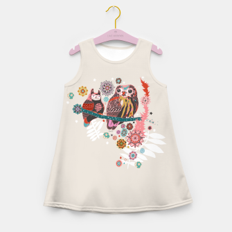 Miniatur Forest Story Girl's Summer Dress, Live Heroes