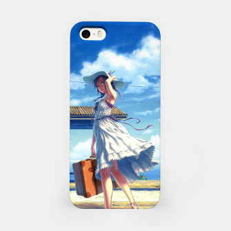Thumbnail image of Anime Girl Travel Carcasa por Iphone, Live Heroes