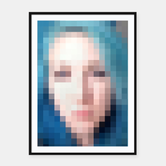 Thumbnail image of hello, i'm the girl from your dream    Framed poster, Live Heroes