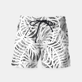 Miniatur bee gray Swim Shorts, Live Heroes