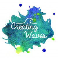 Creating Waves logo