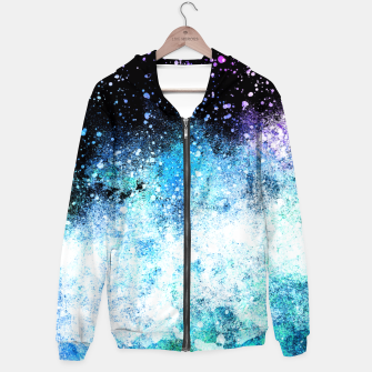 Thumbnail image of Blue Tone Space Hoodie, Live Heroes