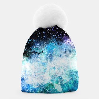 Thumbnail image of Blue Tone Space Beanie, Live Heroes