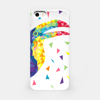 Geometric Toucan  iPhone Case miniature