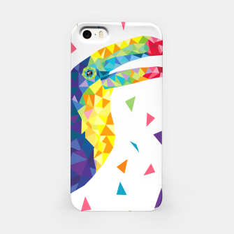 Miniature de image de Geometric Toucan  iPhone Case, Live Heroes