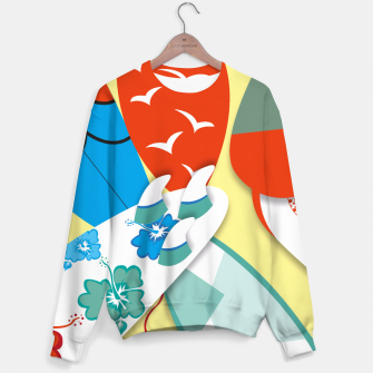 Miniature de image de Surf boards Sweater, Live Heroes