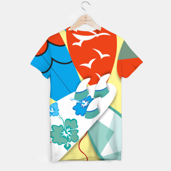 Miniature de image de Surf boards T-shirt, Live Heroes